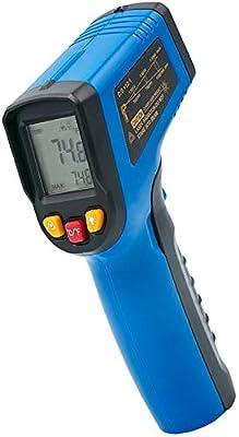 Avaroa TS600 Digital Infrared Laser Thermometer Temperature Gun -58°F to 1112°F (-50°C to 600°C) Non-Contact with Adjustable Emissivity