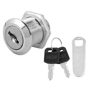 Cam Lock for Door Cabinet Mailbox Drawer Cupboard 20mm + Keys ...