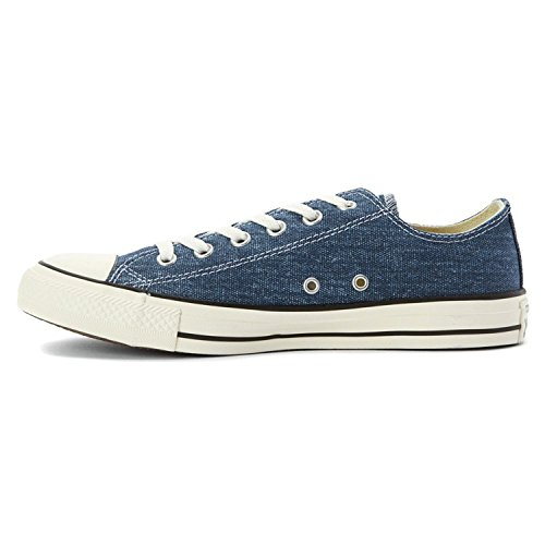 Converse Mens Chuck Taylor All Star Ox Washed Canvas Low, 11,5 D (medio) Us - Navy / Egret / Black