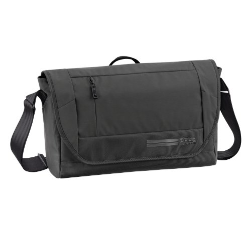 zero-halliburton-arc-messenger-black-one-size