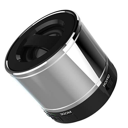 RENJUN Modern Bluetooth Mobile Wireless Audio Mini Audio Compact Portable Outdoor Audio, 125 × 90 × 60mm Speaker (Color…