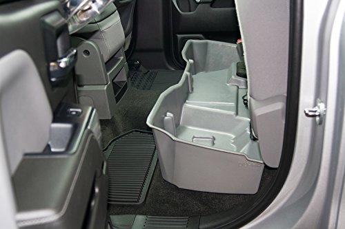 du ha under seat storage fits 14 17 chevrolet gmc silverado sierra light duty heavy duty. Black Bedroom Furniture Sets. Home Design Ideas