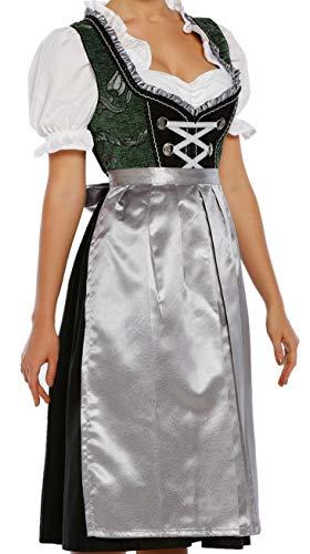 Lukas Dirndl Authentic Bavarian Trachten Dirndl Dress 3-Pieces with Apron and Blouse - 1220 (16)