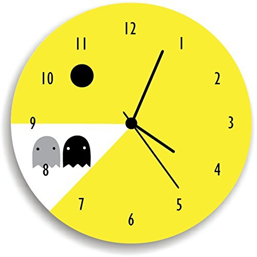 Pacman Wall Clock video game , Wall clock for kids room, wall clock Decor
