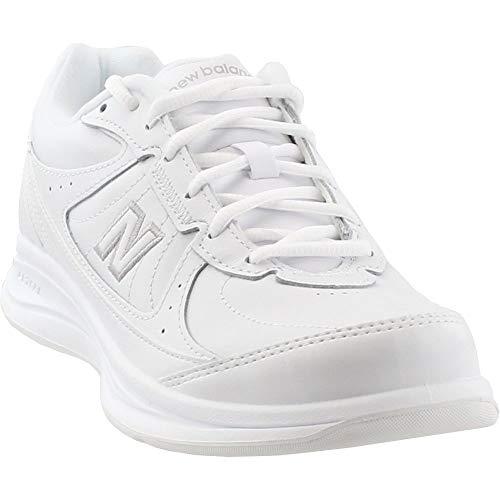 (New Balance Women's WW577 Walking Shoe, White, 9 D US)
