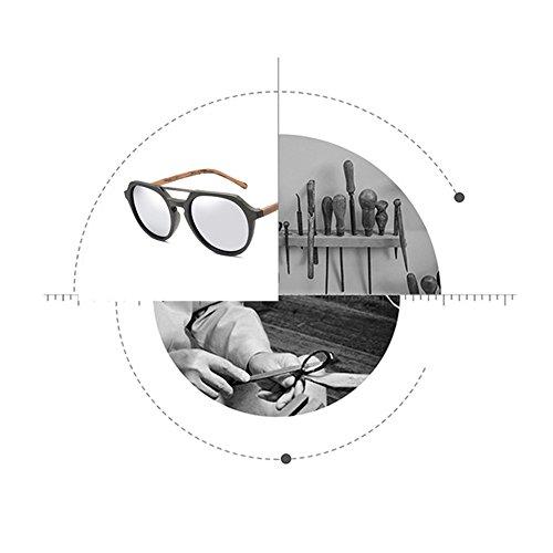 Gafas Mujer Y Sol Gafas De Madera Marco B De Sol De De De De Época Polarizadas F Hombre De Gafas Sol 4qUAY