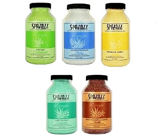 Spazazz 22 oz Spa and Bath Aromatherapy Crystals - 5 Pack by Spazazz