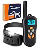Zukaly Dog Training Collar,1800FT Remote Shock Collar for Dogs 100% Waterproof and Rechargeable