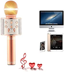 Sweepstakes: Wireless Bluetooth Karaoke Microphone -…