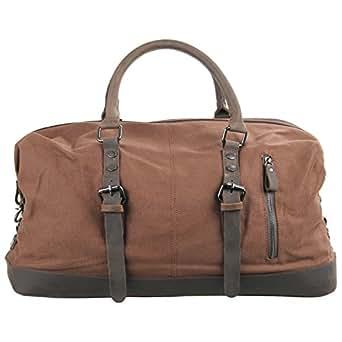 CLELO B305 Canvas Weekend Travel Duffel Bag Oversized - Premium Quality
