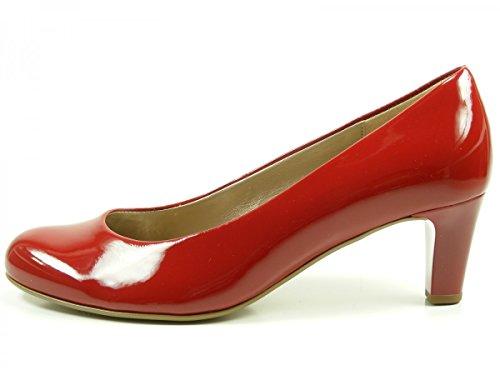 Gabor 75-200 Zapatos de tacón de material sintético mujer Rot