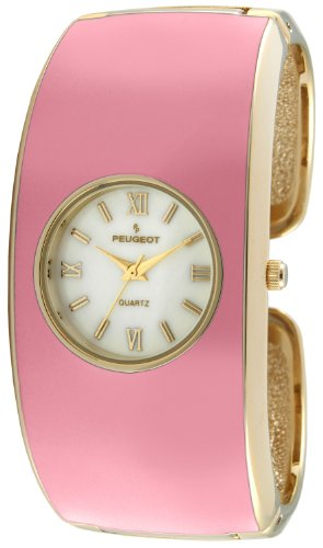 Peugeot Women's 7085PK Analog Display Japanese Quartz Pink Watch