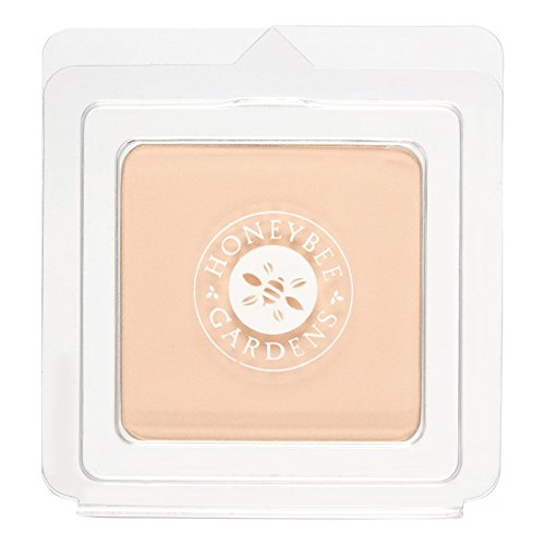 Honeybee Gardens Pressed Mineral Powder Foundation Refill, Supernatural,8g ()