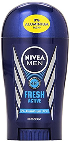 Nivea Men Deo Fresh Active Stick, ohne Aluminium, 3er Pack (3 x 40 ml)