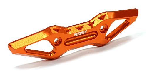Integy RC Model Hop-ups T4110ORANGE Evolution-6 Billet Machined Alloy Front Bumper for Traxxas 1 10 E-Revo