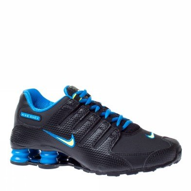 180fd0ee64ad Galleon - Nike Shox NZ SI Plus (GS) Boys Running Shoes 317929-021 Black 6.5  M US