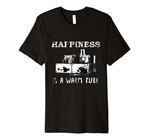 Happiness is a Warm Tube T-Shirt - Headphone Amp - Women Russian Tube