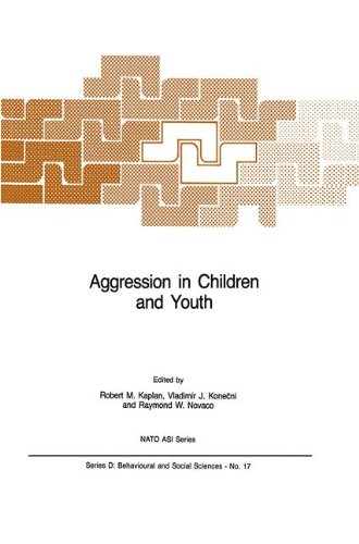 Download Aggression in Children and Youth (Nato Science Series D:) PDF