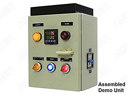 amazon com: powder coating oven controller kit, 240v 30a 7200w (kit-pco):  industrial & scientific