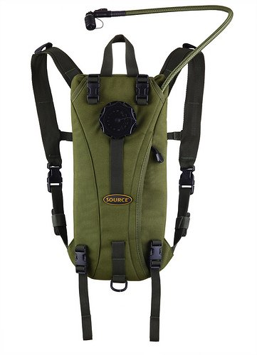 Source Tactical Gear Tactical Hydration Pack (Olive, 3-Litres), Outdoor Stuffs