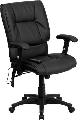 mid-back-massaging-black-leather-executive-swivel-office-chair