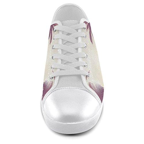 Artsadd Personnalisé Été Tropical Paysage Toile Chaussures Pour Hommes (model016)