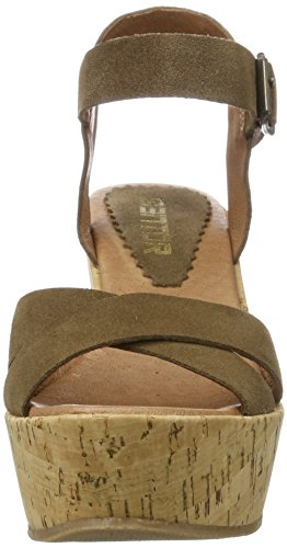 Mentor Damen Wedge Sandal Braun (Light Brown)