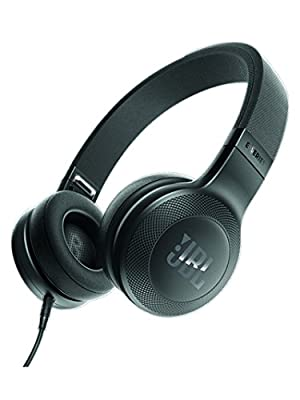 JBL JBLE35BLK On Ear Signature Headphones W Mic, Black
