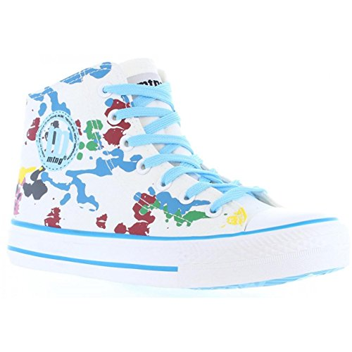 Sneaker für Junge und Mädchen und Damen MTNG 13992 MANCHA BLANCO