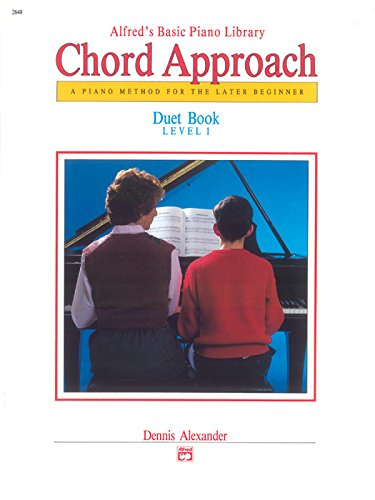 Basic Piano Duet Book - Alfred's Basic Piano Chord Approach Duet Book, Bk 1: A Piano Method for the Later Beginner (Alfred's Basic Piano Library)