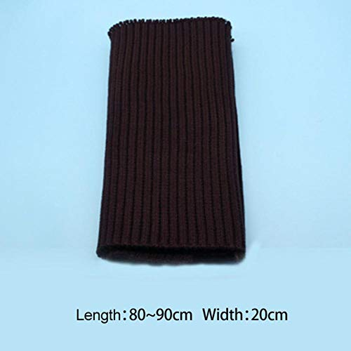 Fabric - Rib Accessories Cuffs Rib Cloth Neckline Hem Neckline Hem Rib Fabric Knitted Fabric (Dark Wine Red)
