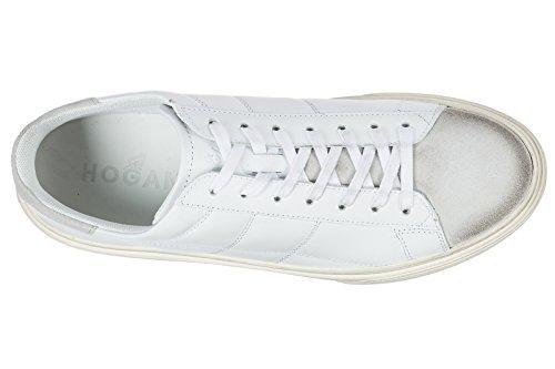 Scarpe Da Ginnastica Uomo Hogan In Pelle H340 Bianco