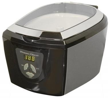Haier Professional Ultrasonic Cleaner - Cleans Jewelry Watches Optics Eyeglasses CD's DVD's and All Other Delicate Items Safely