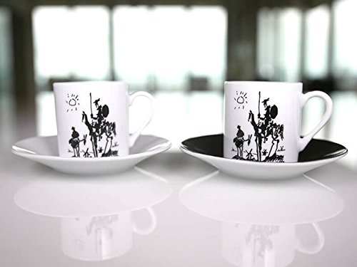 Picasso – Espresso Set (Set of 2) – Don Quixote (1955)
