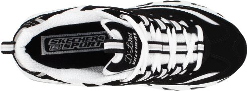 Sneaker Donna D'lites nbsp;centennial Skechers white Black EqZgzntw