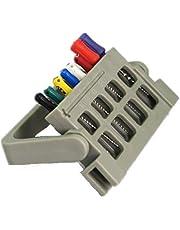 smiledt 3PCS 8 Holes Autoclavable Endo Files Holder Dispenser Endodontic Drill Stand