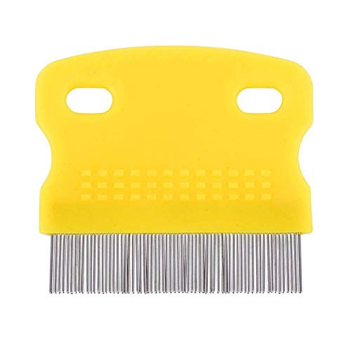 Topbeu 2PCS Pet Dog Cat Flea Combs Fine Teeth Grooming Tool by Topbeu (Image #1)