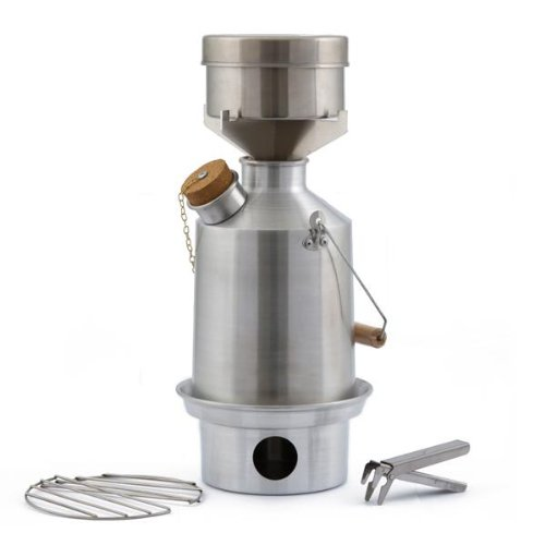 Camp Stove by Kelly Kettle. This Medium Aluminum Scout Cook Stove Complete Kit, is the perfect Camp Stove for Cooking, Hiking, Camping, Kayaking, Fishing, and Hunting. The very light and versatile Kelly Kettle Camp Stove is also ideal for Emergency Preparedness Kits, Disaster Kits or Bug Out Bags. You can be Prepared for any Disaster or Emergency with a Camping Stove by Kelly Kettle. Not only is this Volcano Stove the perfect Cook Stove for Emergency Preparedness, but it is also the ideal Cook Stove for Car Camping. Boy Scouts use the Kelly Kettle on all their campouts. The Kelly Kettle comes in 3 sizes. The Kelly Kettle Camping Stove you are buying is the Kelly Kettle Aluminum Medium Scout Kettle with the Complete Cookset and Pot Support for Cooking. Great for Boiling Water and Cooking Outdoors. Statement will show a charge by Sephra Kelly., Outdoor Stuffs