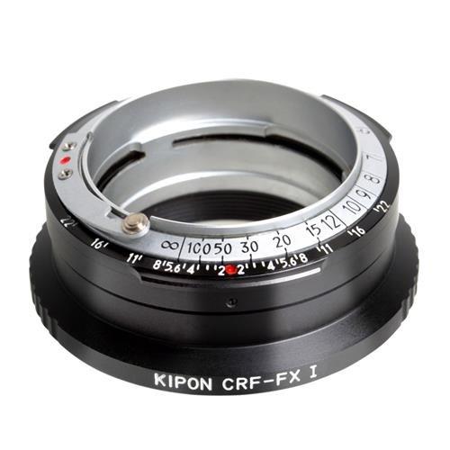 Kipon Contax RFレンズを富士Xシリーズミラーレスカメラレンズアダプタ(統合バージョン)   B00ZZ40KQA