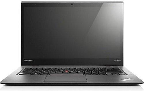 Lenovo 2nd Gen ThinkPad X1 Carbon 14in HD+ Laptop Computer, Intel Dual Core i7-4600U CPU up to 3.3GHz, 8GB RAM, 240GB SSD, HDMI, 802.11ac, Bluetooth, Windows 10 Professional (Renewed)