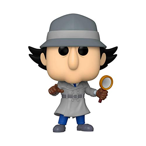 Funko- Pop Animation Inspector Gadget w/Chase (Styles May Vary) Figurine de Collection, 49268, Multicoleur