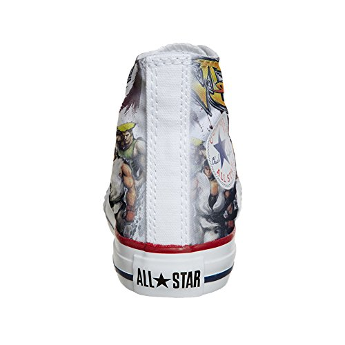 Converse Customized Chaussures Coutume (produit artisanal) The fighters