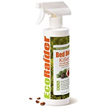 Bed Bug Killer by EcoRaider 16 oz, Fast and Sure Kill with Extended Residual Protection, Natural & Non-Toxic, Child & Pet Friendly