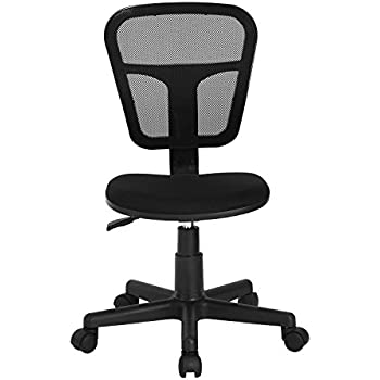 Amazoncom Office Star Mesh Back Armless Task Chair with Padded
