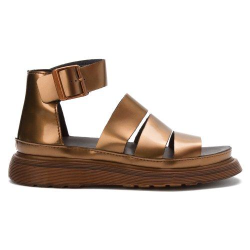 Dr. Martens Womens Clarissa Chunky Strap Sandal, Copper 6 UK