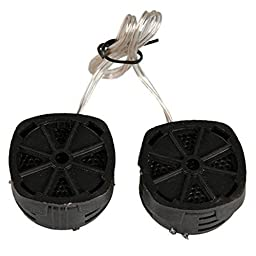Pygan(TM) New Arrival High Efficiency 2PCS/Pair Super Power Dome Tweeter Speaker for Car 500W Stereo & s