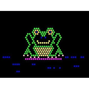 Lite Brite Refill: The Zoo (9x12 RECTANGLE) - NOT FOR NEW LITE BRITES - For pre-1990 Lite Brites only