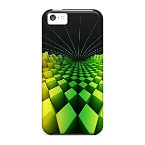 New Arrival Three Dimensional Origami ZcGfpJM8082nObmf Case Cover/ 5c Iphone Case