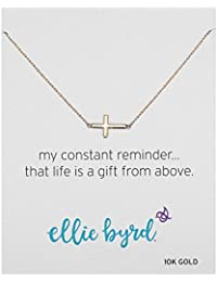 """ellie byrd 10k Yellow Gold Necklace, 18"""""""