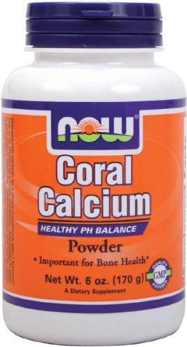 NOW Foods Calcium de corail en poudre, 6 onces